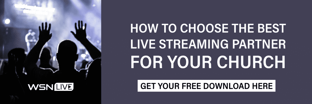 best live streaming partner for your church