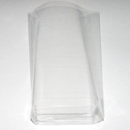 Пакетики 10х20+4 см с объемным дном
