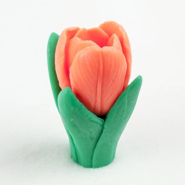 Тюльпан (две формы) 3D, силиконовая форма