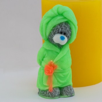 Мишка в халате 3D
