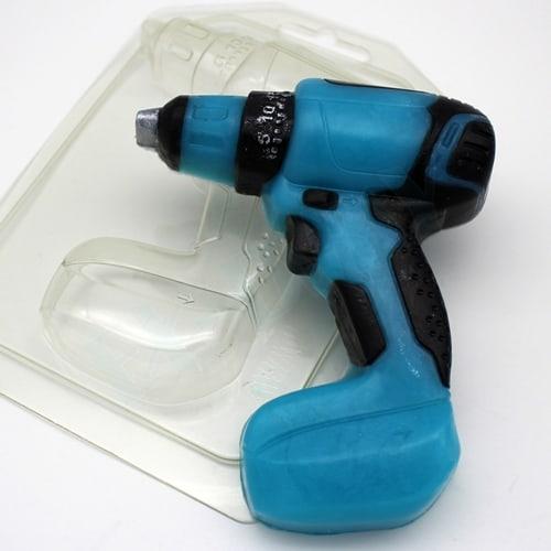Шуруповерт, форма пластиковая
