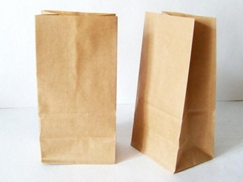 Крафт-пакет  20х10х7 см