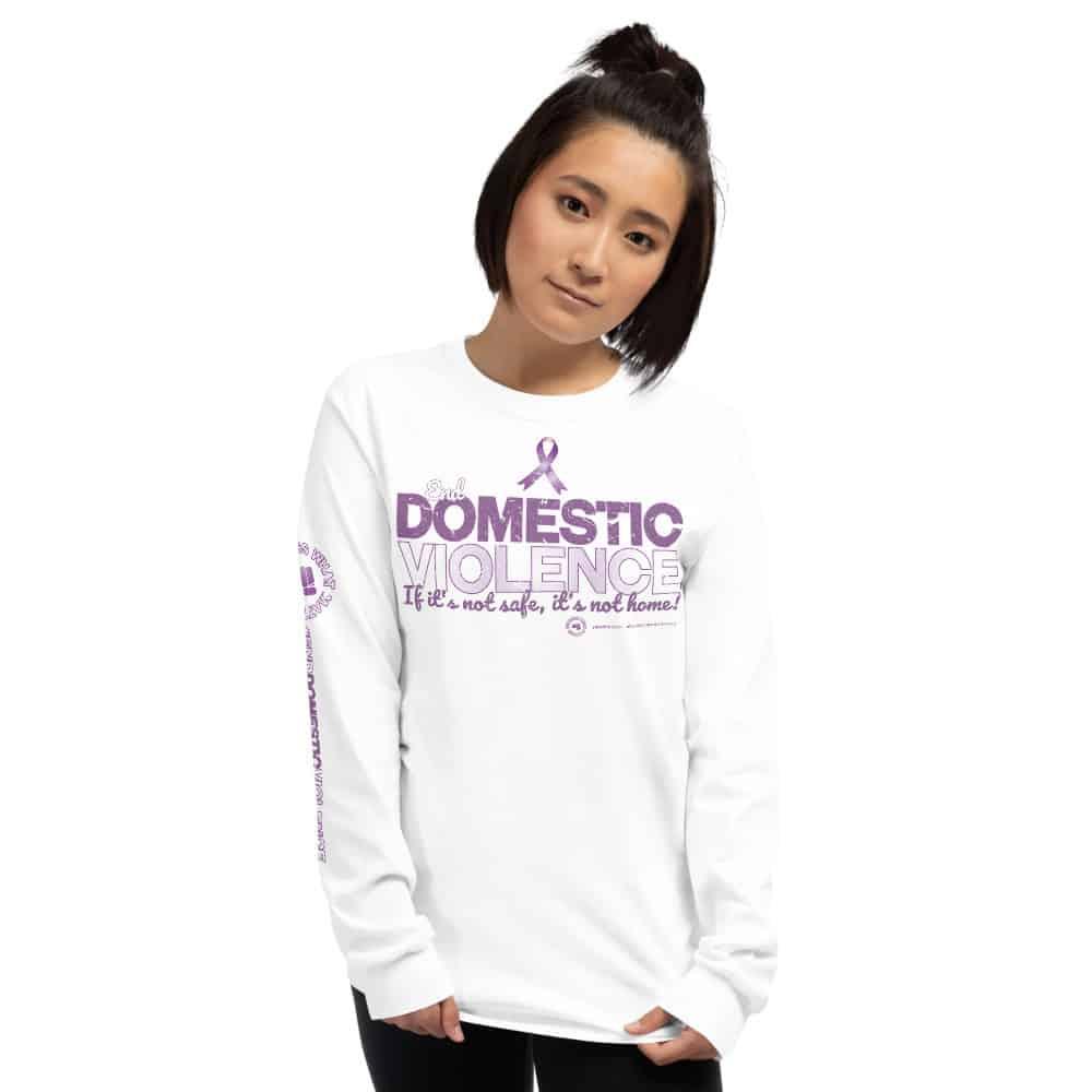 End Domestic Violence Unisex Long Sleeve T-Shirt