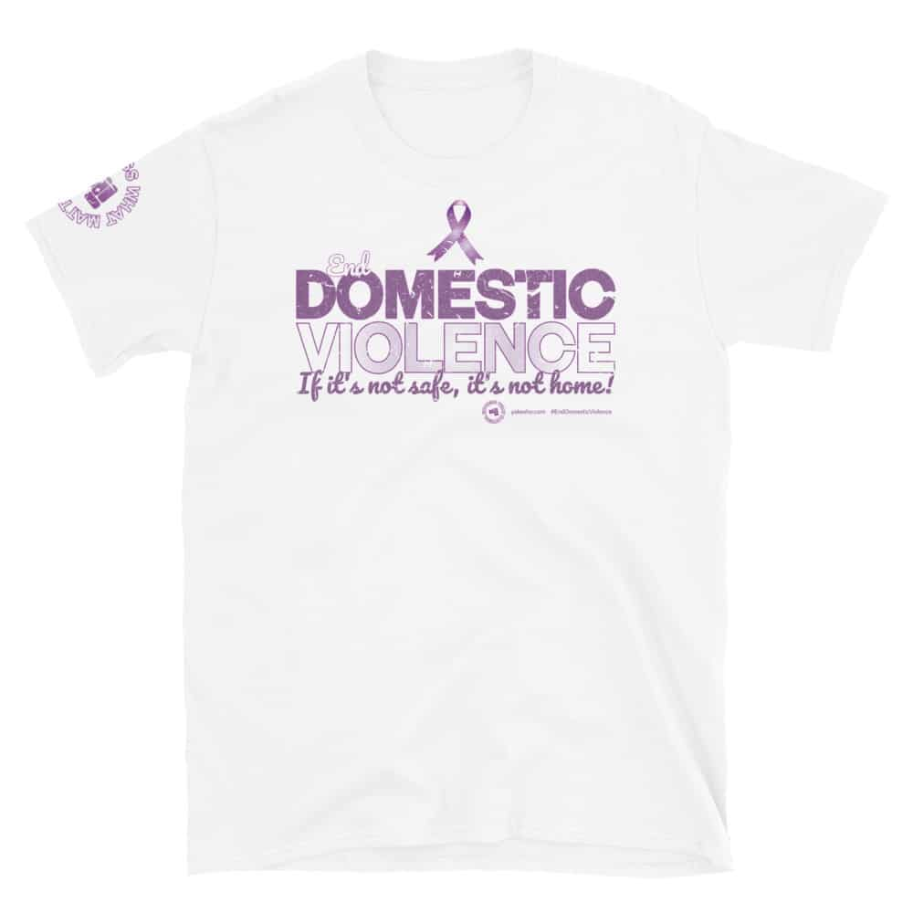 End Domestic Violence Unisex Short Sleeve T-Shirt
