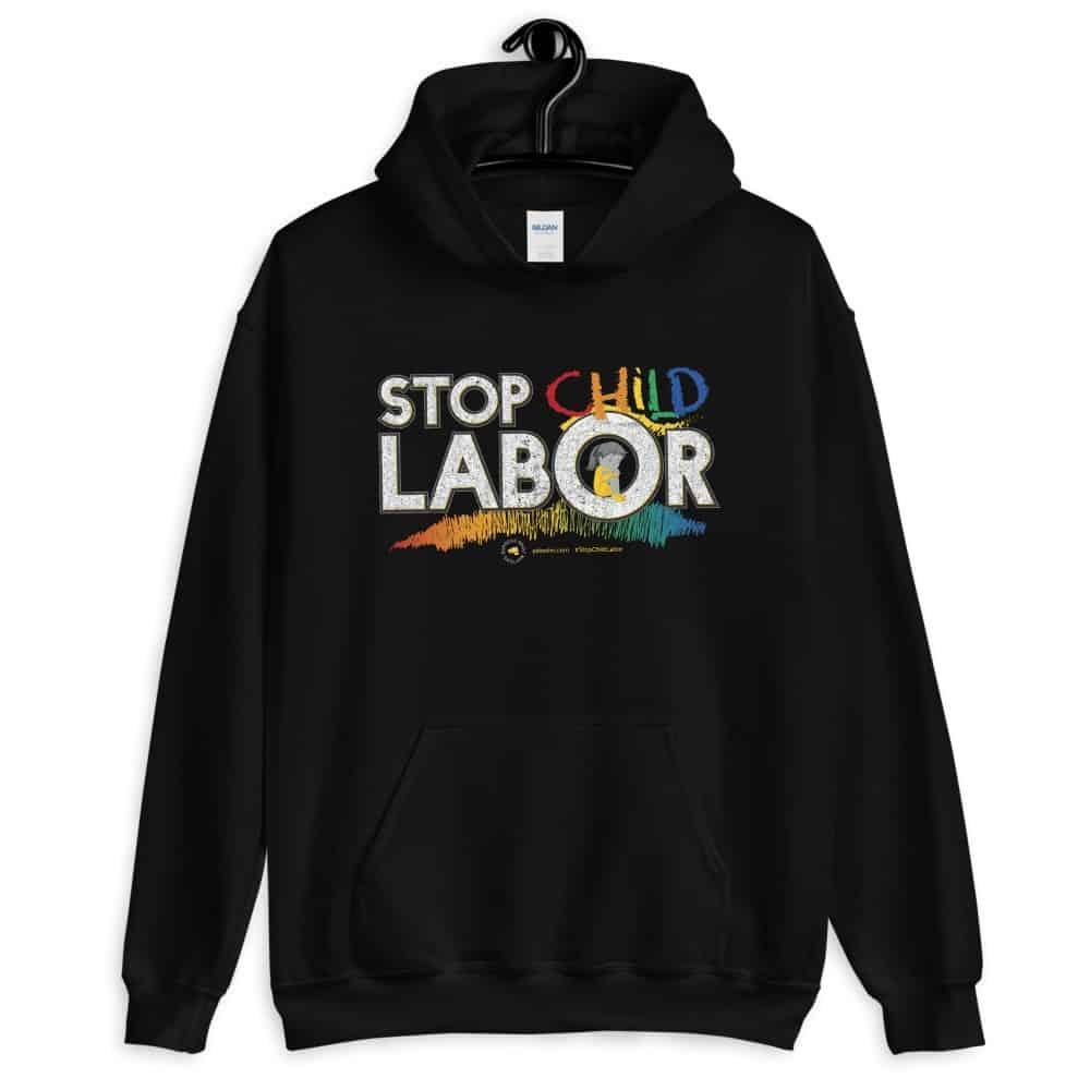 Stop Child Labor Unisex Hoodie