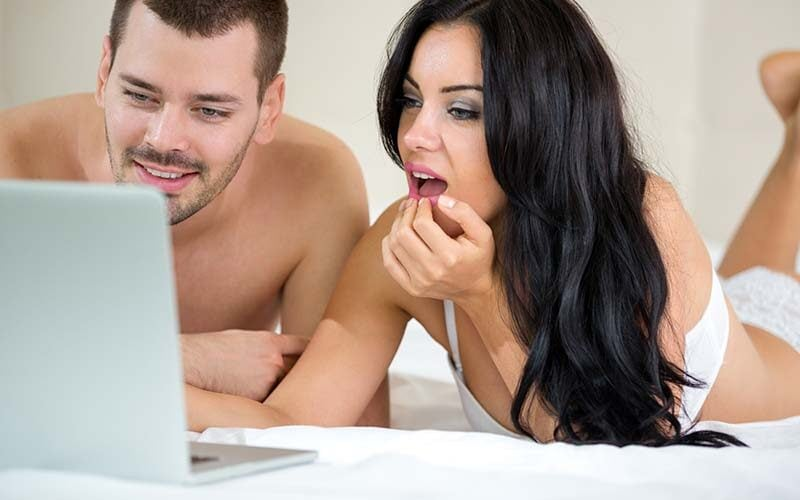 Son Mom Watch Porn Together