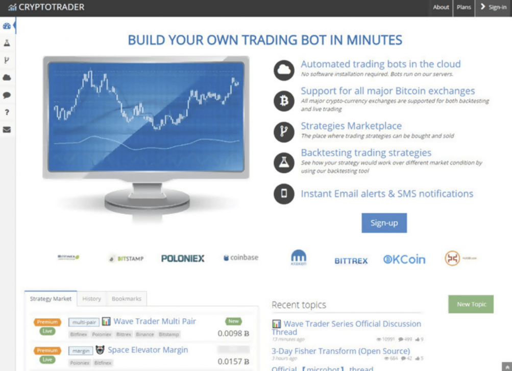 ROBOT TRADING CRYPTOCURRENCY
