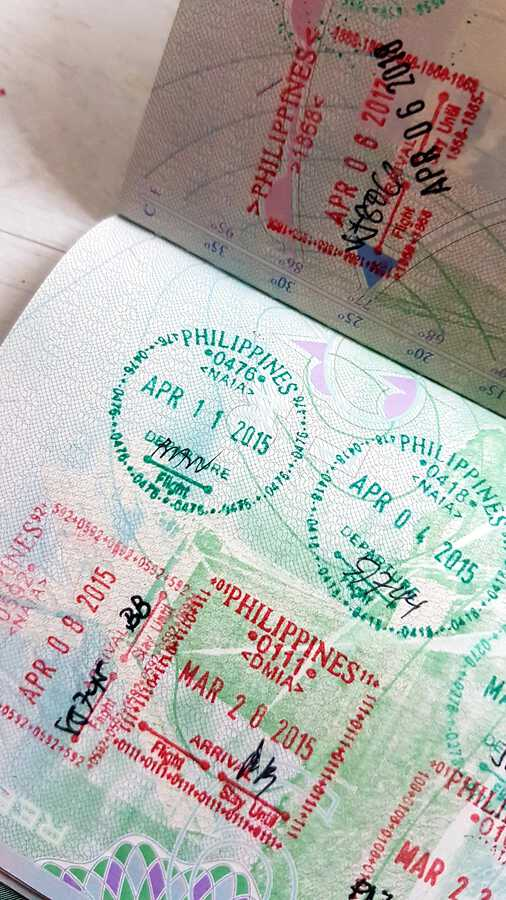 Balikbayan Visa Stamps for the FIlipino Balikbayan and dual citizens
