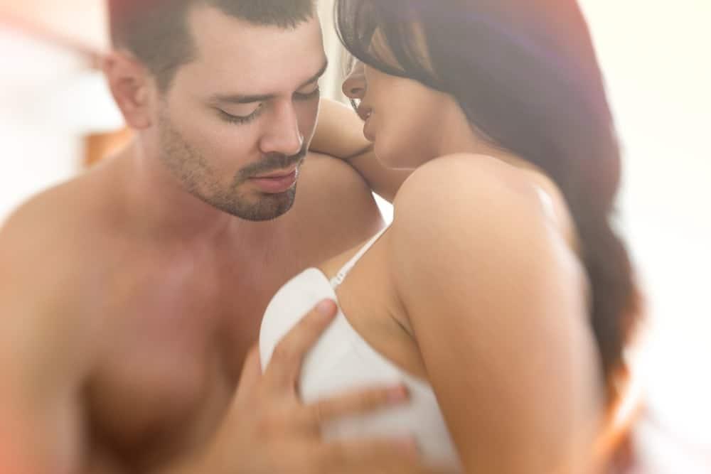 Female breast touching man 3 Reasons