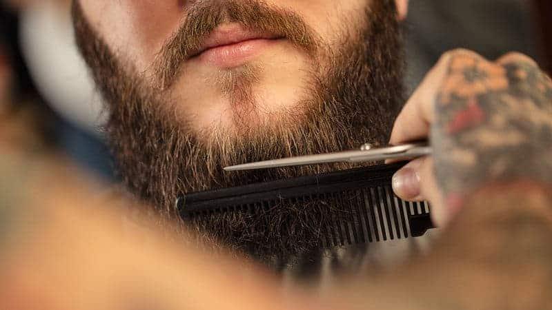 klippa skägg guide