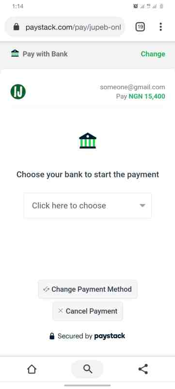 How Can I Get JUPEB Form - Pay with bank