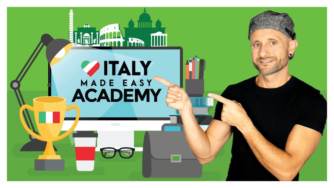 Learn Italian with Italy Made Easy Academy