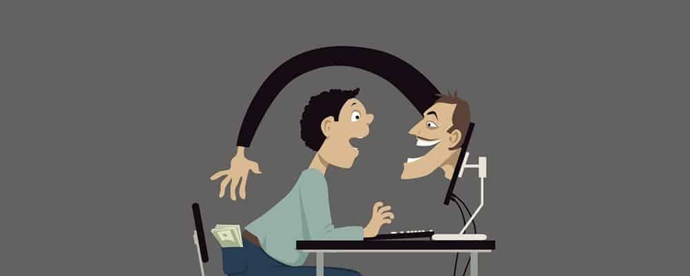 ¿Qué son las estafas en Internet?