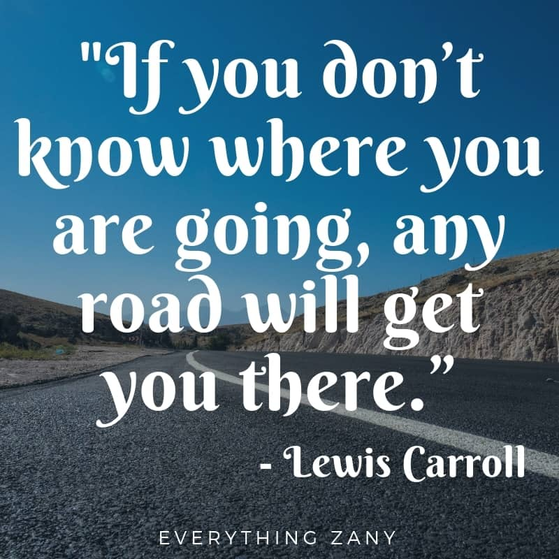 adventure quotes from Lewis Caroll
