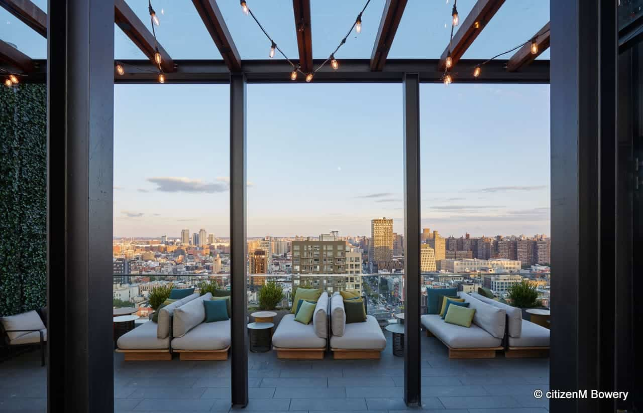 Best New York City Hotels with Rooftops