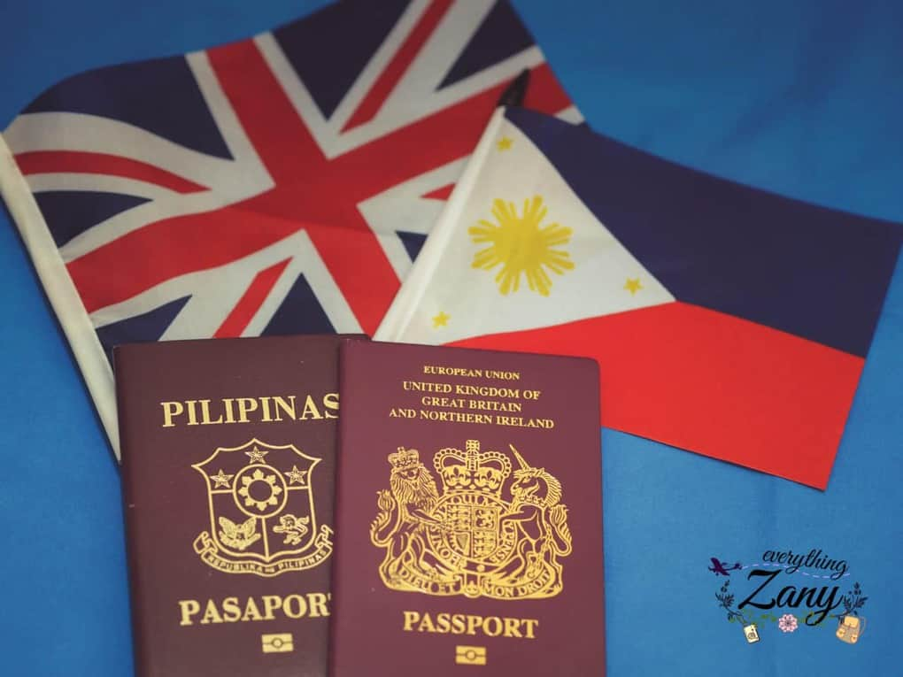 Philippines and British Passports - how to apply for dual citizenship retention in London