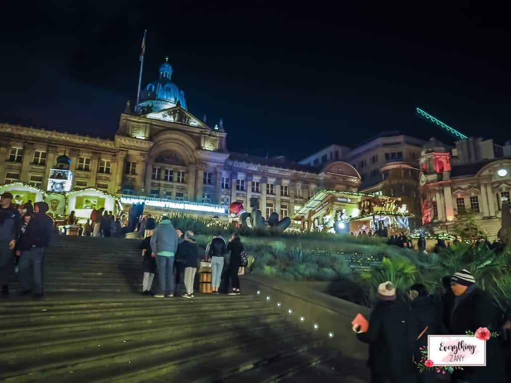 Birmingham Attractions: German Christmas Market in Birmingham
