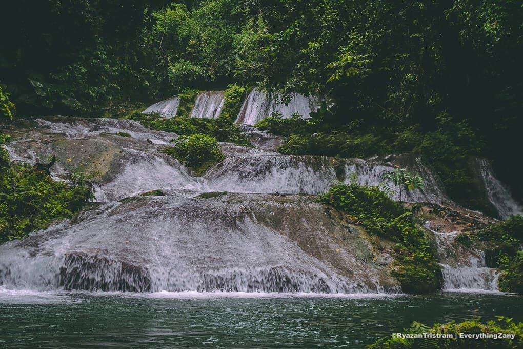 Reach Falls in Portland Jamaica