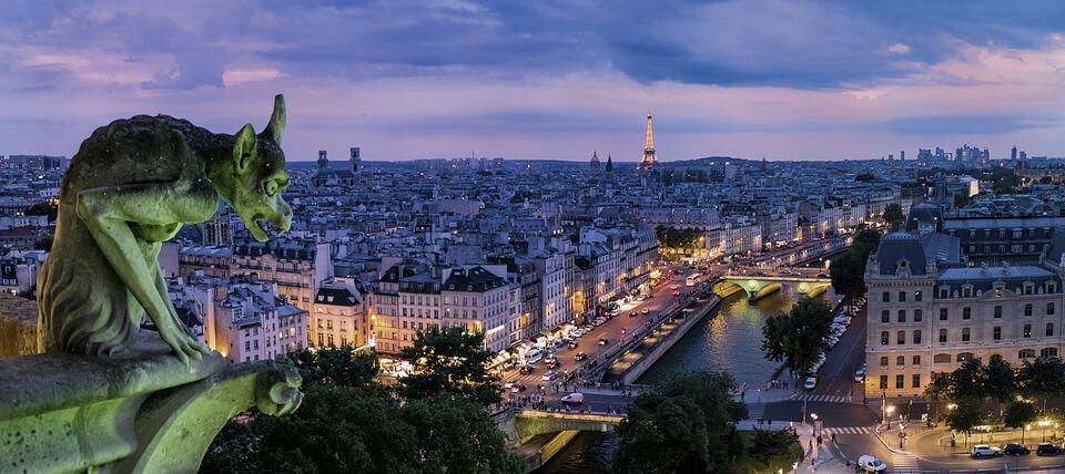 Paris, France: The Most Romantic Honeymoon Destinations in Europe