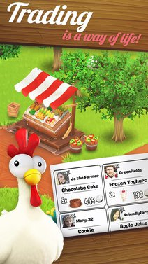 Hay Day screen 1
