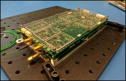 Integrated two-laser optical HAL system with driver and stabilization electronics