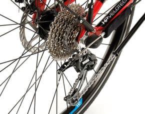 Gangschaltung Fahrrad Bicycle Drivetrain Shifting Tripleshift 27 Deore Schaltwerk Derailleur