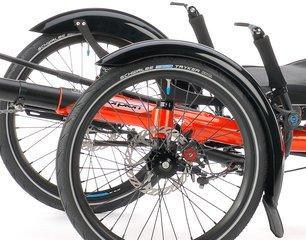 Dreirad Schutzbleche Tricycle Mudguards Trikefender