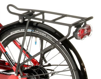 recumbent trike for kids and short people gekko fxs rear rack