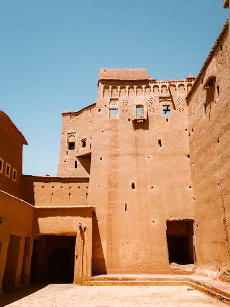 Ouarzazate Morocco, Kasbah Taourirt