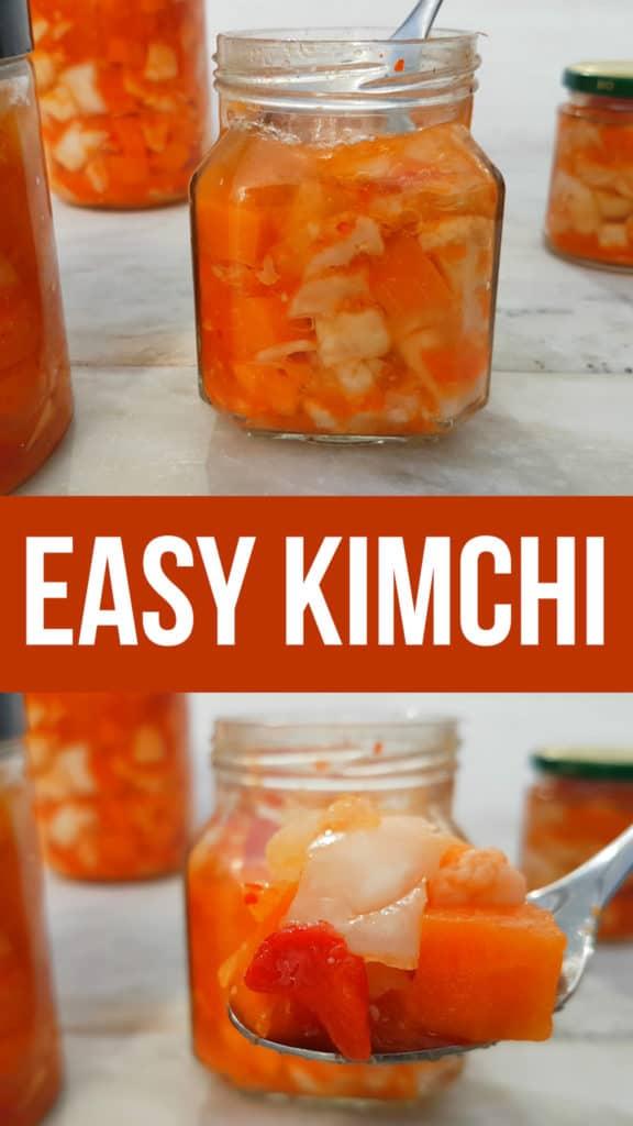 EASY RAW KIMCHI RECIPE