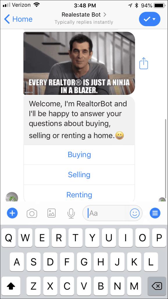 Facebook Messenger Templates, Chatbot Templates