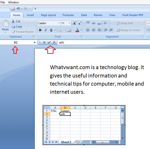 2 Methods To Insert Excel Into Word Document Whatvwant