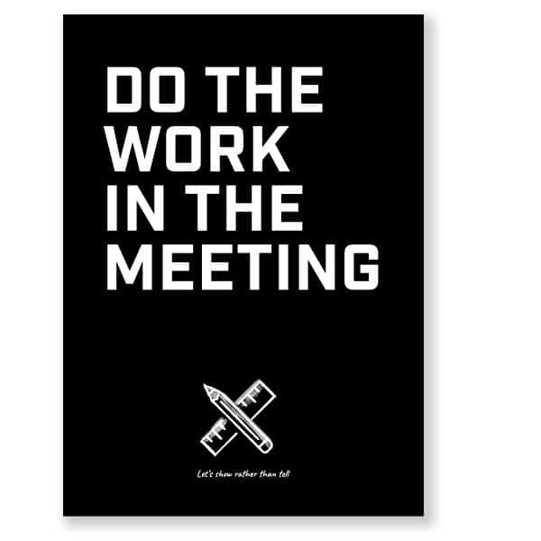 Meeting Mantra posters