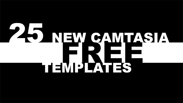 25 New Free Camtasia Templates, and Christian Worship Assets