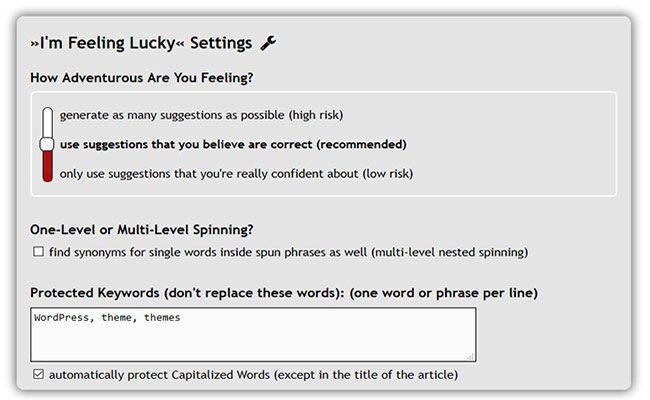 WordPress article rewriter plugin