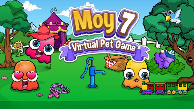 Moy 7 the Virtual Pet Game poster