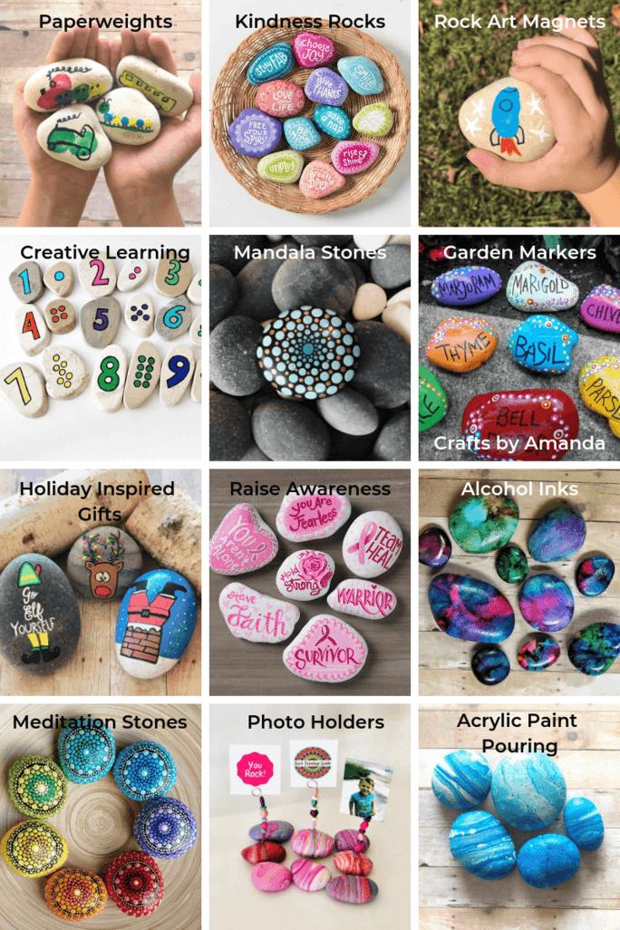 fun painted rock ideas