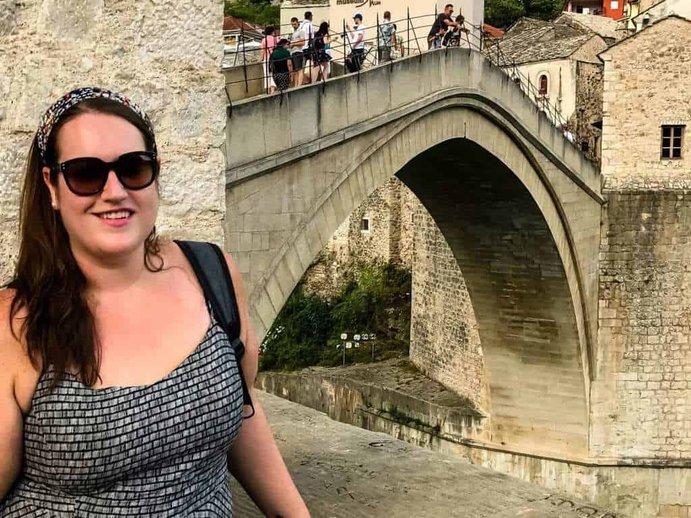Bosnia - Mostar - Stephanie Landscape