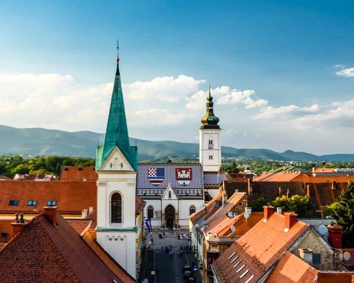 Croatia - Zagreb - St. Mark's Church