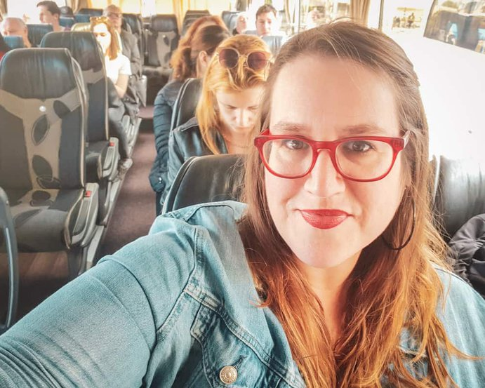 Bulgaria - Plovdiv - Bus Selfie stephanie