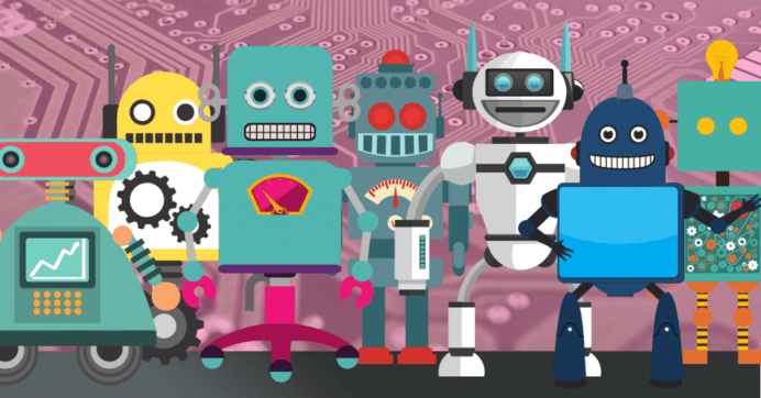 range of chatbots