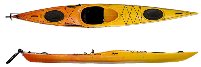 Riot Kayaks Edge 14.5 LV Flatwater Day Touring