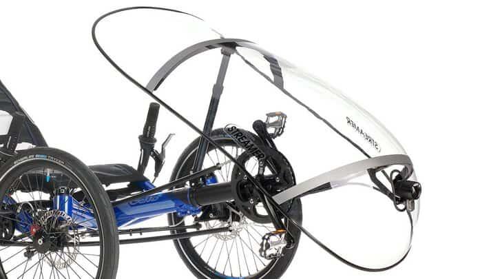 gekko fx 20 trike wetterschutz front fairing streamer