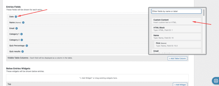 DGV 4 1024x404 - How to display GravityForms Quiz assessment results using Gravity View