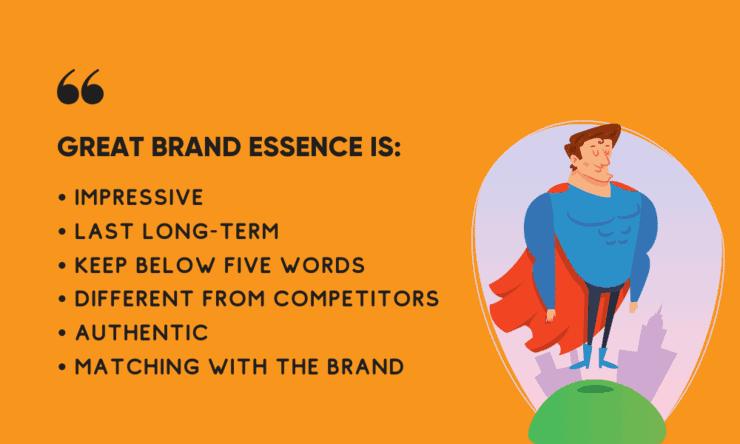 elements of brand essence