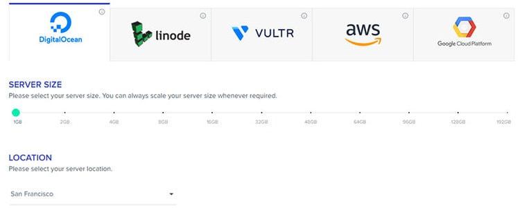 choosing server size