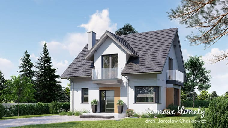Projekt domu - Bratek