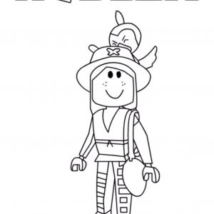 Roblox coloring pages | Free Coloring Pages | 300x300