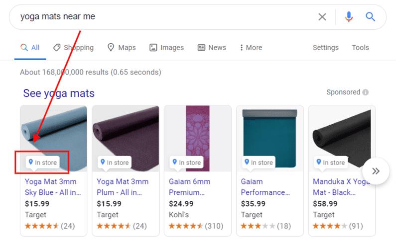 local inventory ads google