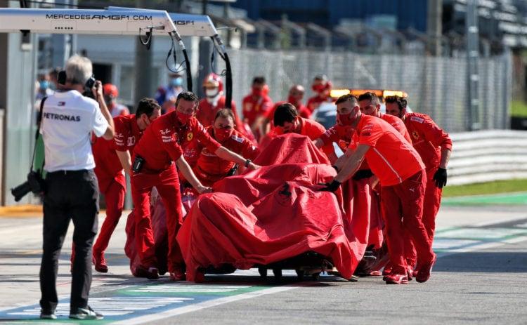 Leclerc accepts responsibility for massive Monza shunt